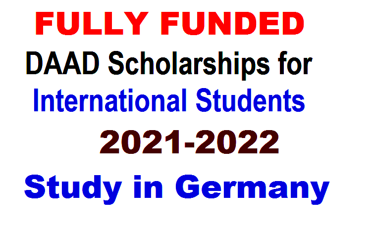 DAAD Scholarships for International Students 2021-2022 – Study in Germany