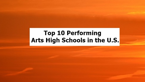 Top Performing Arts High Schools in the United States